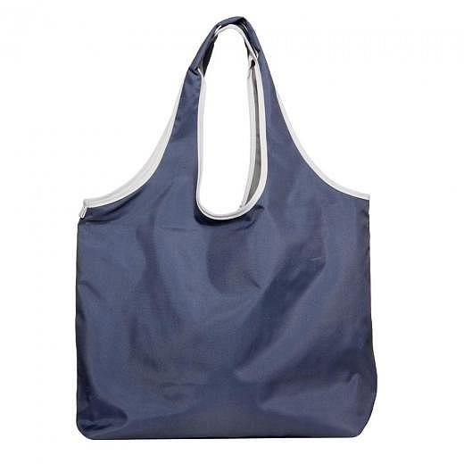 Lara Shopping Bag Blue Grey