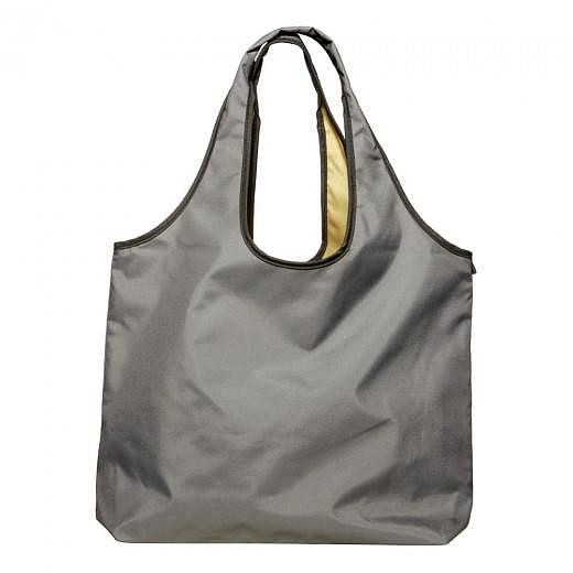 Lara Shopping Bag Grey Gold